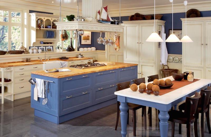 Englische landhausküche blau  koenigskuechen.de | Hochwertige Designer Markenware, französische ...