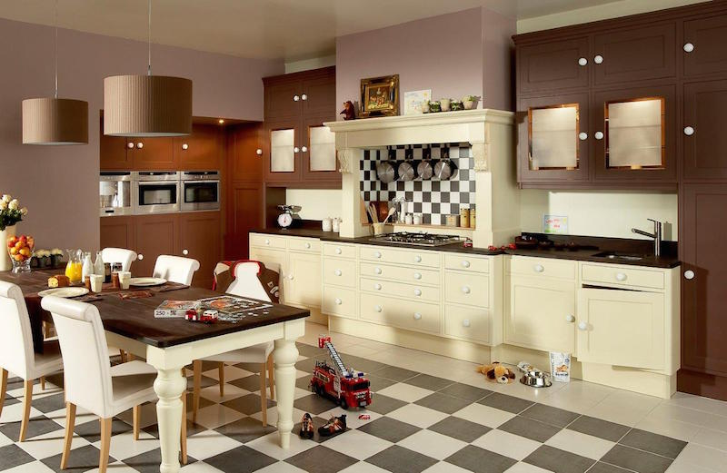 hochwertige designer markenware franz sische k chen nostalgische k chen. Black Bedroom Furniture Sets. Home Design Ideas